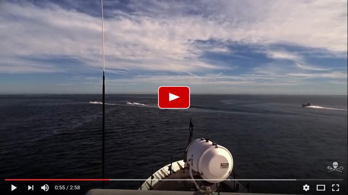 Sea shepherd vs poachers in the gulf of california