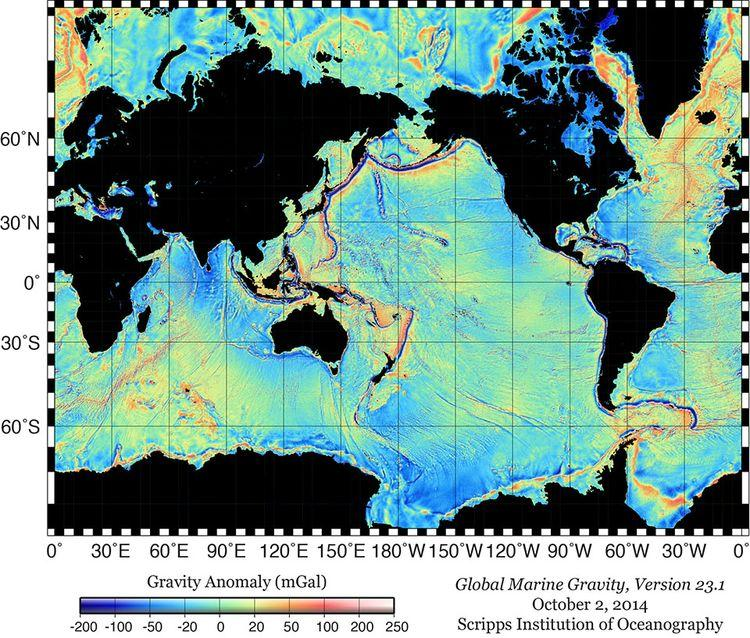 1151824 global marine gravity carte fonds 5 kilometres 2014