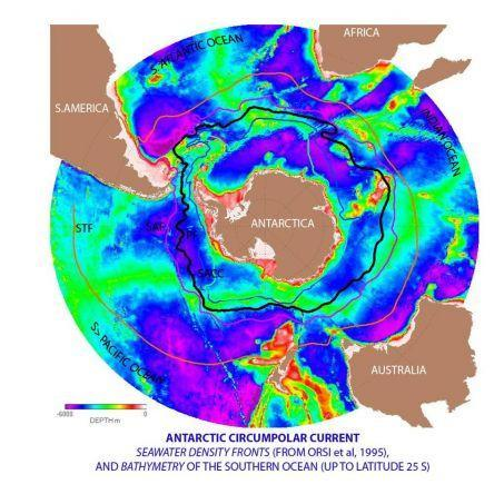 W453 115591 antarctic circumpolar current
